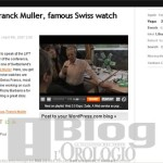 Visita alla Franck Muller in video