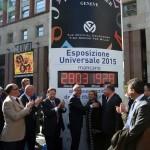 Franck Muller scandisce il tempo per la candidatura di Milano come sede dell'Expo Universale 2015
