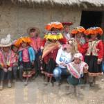 Inaugurazione dell'asilo nel paesino di Paccarictambo intitolato ad Angelo d'Arrigo.