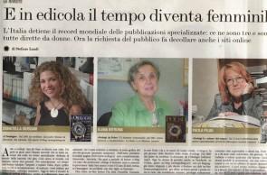Intervista a Dody Giussani sul Corriere della Sera