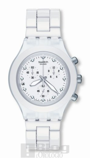 Swatch Fool Blooded White