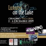 Al via il Luxury on the Lake a Cernobbio