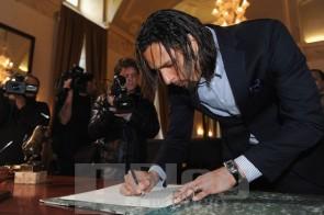 L'attaccante della Juventus Amauri