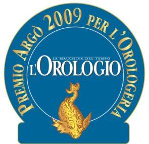 Premio Argò 2009 per l'Orologeria