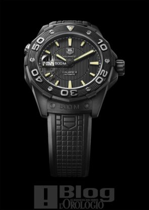 TAG Heuer Aquaracer 500M Full Black