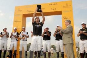 Team Blackwatch, vincitore del Vueve Clicquot Polo Classic