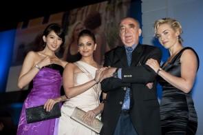 Chi Ling Lin, Aishwarya Rai Bachchan, Kate Winslet e Walter Von Kaenel