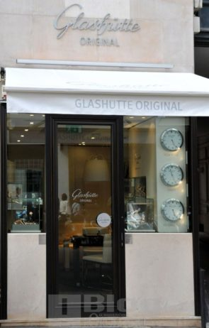 Boutique Glashütte Original a Parigi