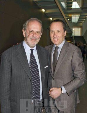 Gino Macaluso e Gildo Zegna