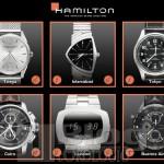 Hamilton – Prima applicazione per I-Pad