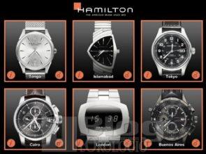 Hamilton iPad