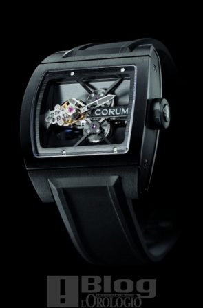 Corum Ti-Bridge Tourbillon Black PVD
