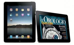 L'Orologio Speciale 2010 per iPad