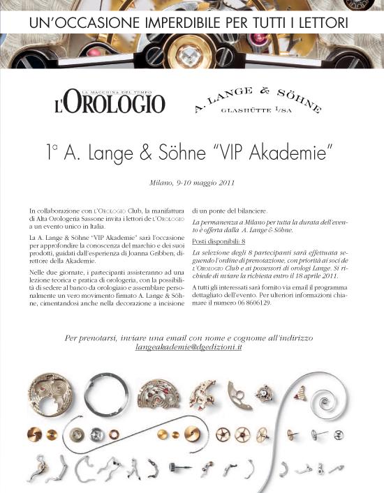 Lange Akademie Milano