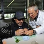 Hublot – Diego Maradona visita la manifattura