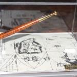 La penna progettata e usata da Leonardo Da Vinci