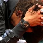 Rafael Nadal trionfa a Parigi con al polso l'RM 027 Tourbillon di Richard Mille