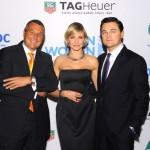 Cameron Diaz e Leonardo DiCaprio a New York con TAG Heuer
