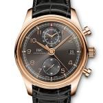 IWC – Portoghese Chronograph Classic e Portoghese Tourbillon Carica Manuale