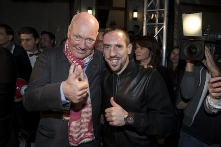 8_Jean-Claude Biver und Hublot-Fan Franck Ribery