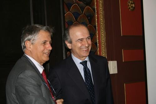 Luigi Frati e Benedetto Mauro alla conferenza