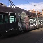 Bomberg in tram a Basilea