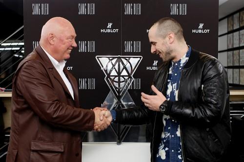 Hublot announces its collaboration with Sang Bleu_1