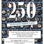 250 numeri de L'Orologio