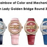 Corum Lady Golden Bridge Round 39 mm
