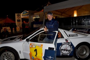 Miki Biasion campione del mondo di rally e brand ambassador di Eberhard & Co.