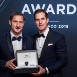 Francesco Totti entra nella Laureus World Sports Academy