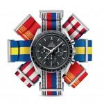 I cinturini Nato di Omega ispirati alle bandiere delle nazioni
