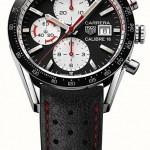 Look vintage e raffinato per il nuovo cronografo Carrera di TAG Heuer