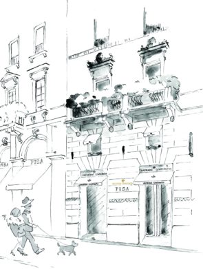 Schizzo_Facciata_Vacheron_Constantin_Pisa