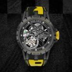 Roger Dubuis Excalibur Spider Pirelli Tourbillon Volante Singolo
