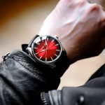 H. Moser & Cie. Pioneer Centre Seconds Swiss Mad Red