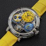 E giallo sia: la collezione Sunshine di Bovet