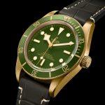 Tudor verde oro