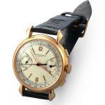 Cronografo da polso in oro rosa (Referenza 4178) – 1942