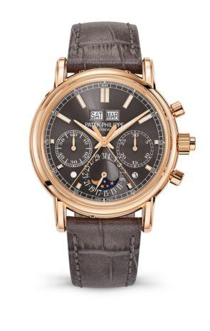 cronografo à rattrapante e calendario perpetuo, Ref. 5204R-011