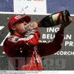 TAG Heuer sul podio insieme a Kimi Raikkonen