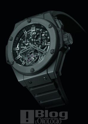 King Power Chrono Tourbillon All Black
