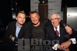 Leonardo Di Caprio, Jean-Christophe Babin e Jack Heuer