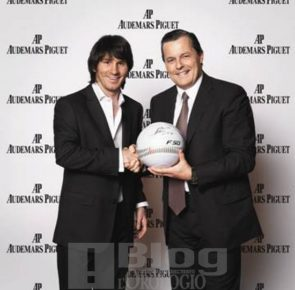 Lionel Messi e Philippe Merk