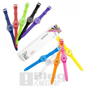 Swatch Colour Codes
