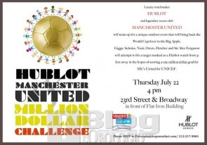 Hublot One Million Dollar Kick
