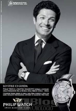 Nuova campagna stampa Philip Watch con Matteo Marzotto