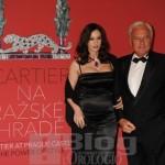 Monica Bellucci e Bernard Fornas