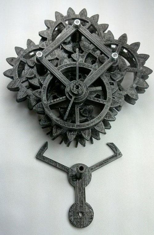 orologio 3D model