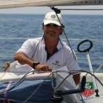 TAG Heuer – L'orologio Aquaracer 500M Full Black al polso del velista Simone Gesi